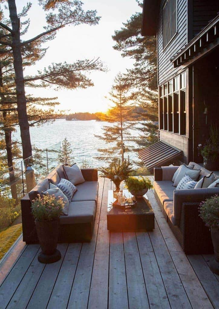 Project Sneak Peek: Home Glow Design Sunset Summers at the Lake House