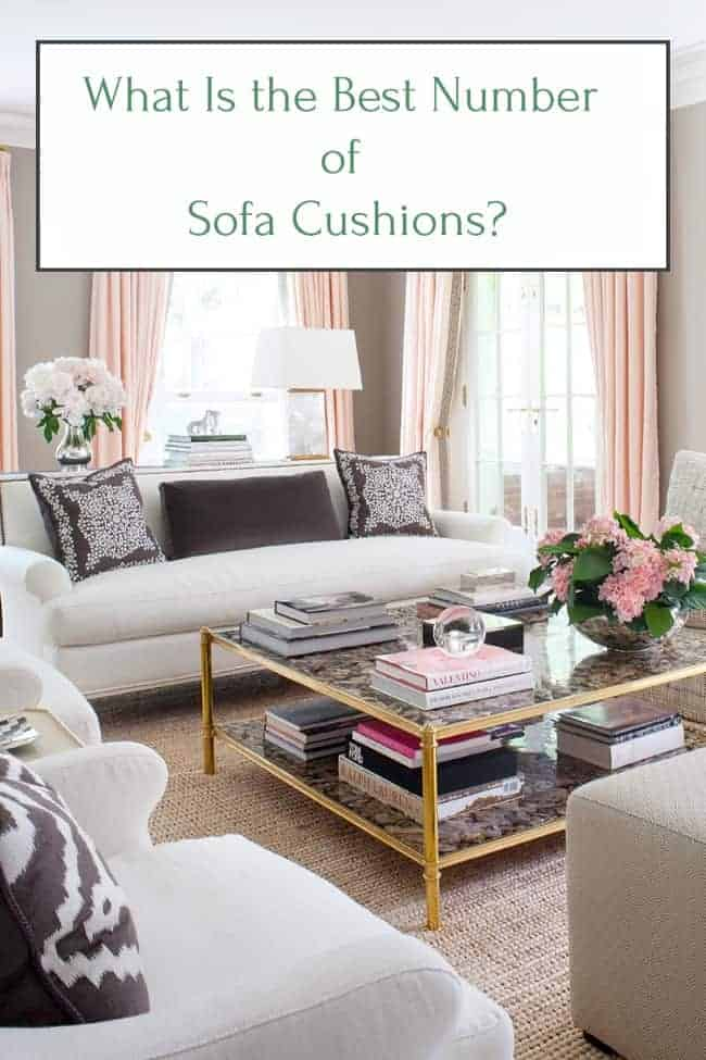 What is the best number of cushions for your sofa couch?