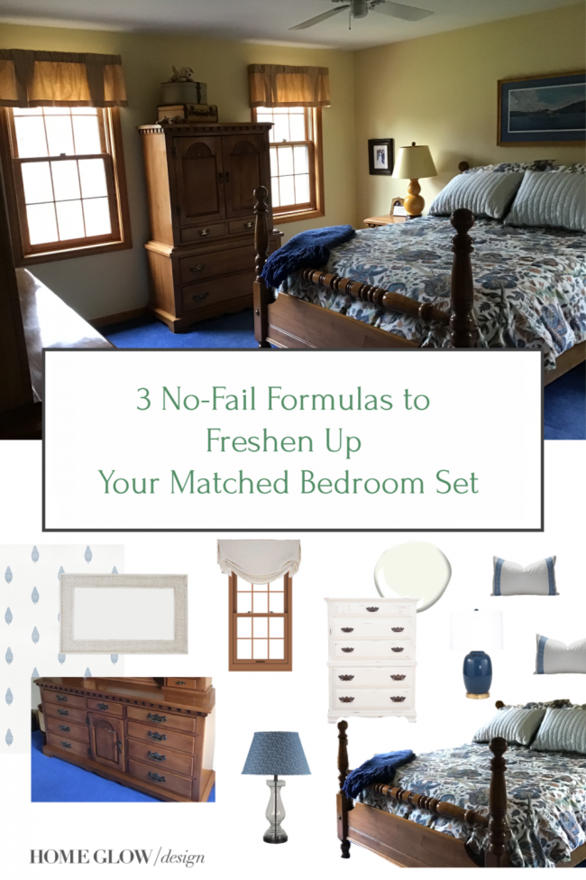 3 No-Fail Formulas to Freshen Up Your Matched Bedroom Set