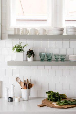 Fireclay 4 x 4 white tile
