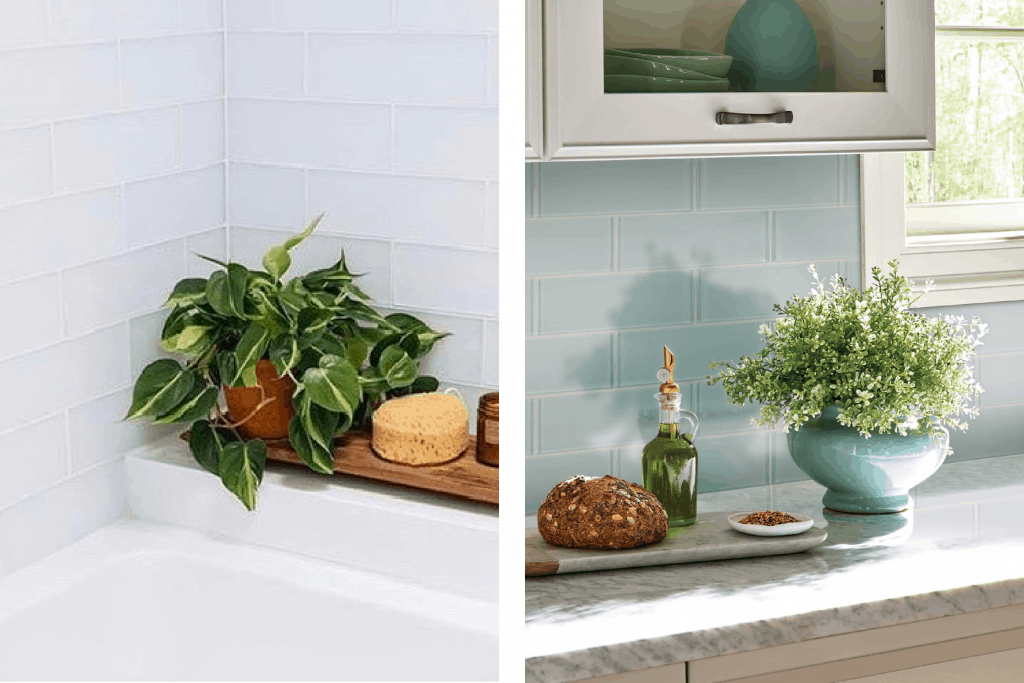 alternatives to subway tile glass tile