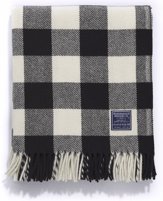 The COZIEST Gift Guide, Courtesy of an American Icon, Faribault Woolen Mill