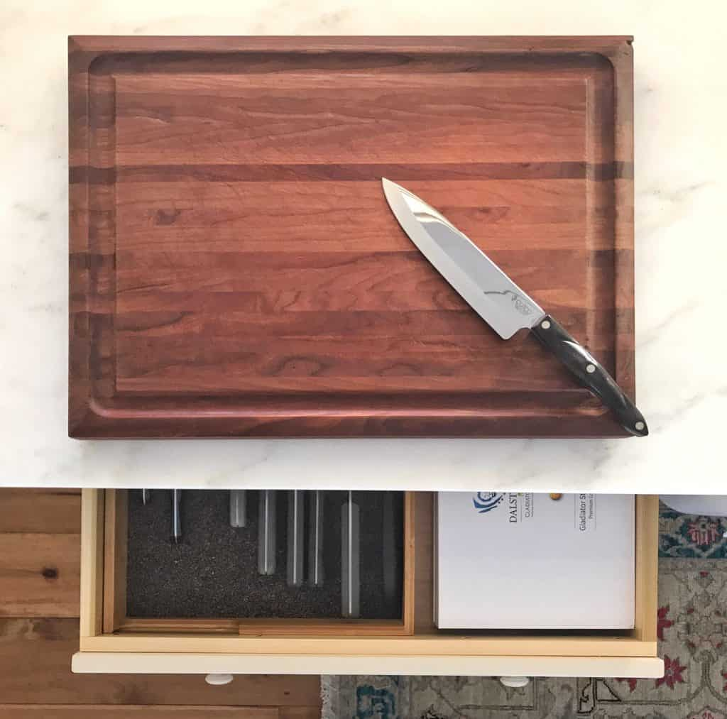 "My Kitchen ""Chopping"" Zone & Knife Drawer Station"