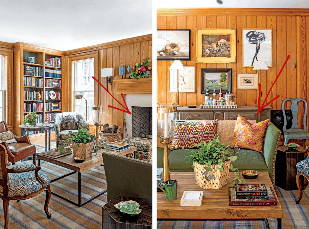 5 Steps to Mix & Match Wood Finishes in a Room 2