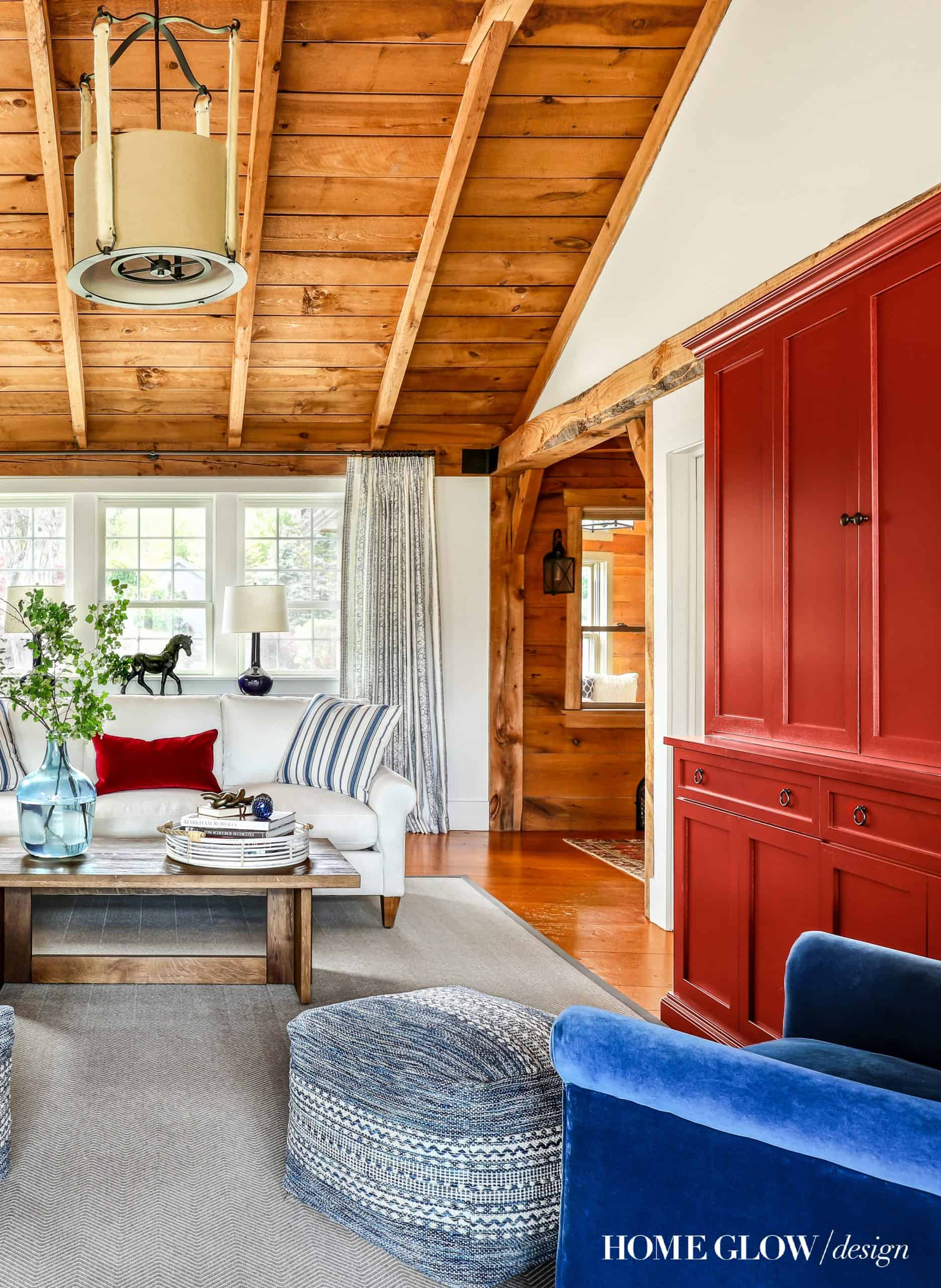 Home Glow Design Modern Rustic Living Room
